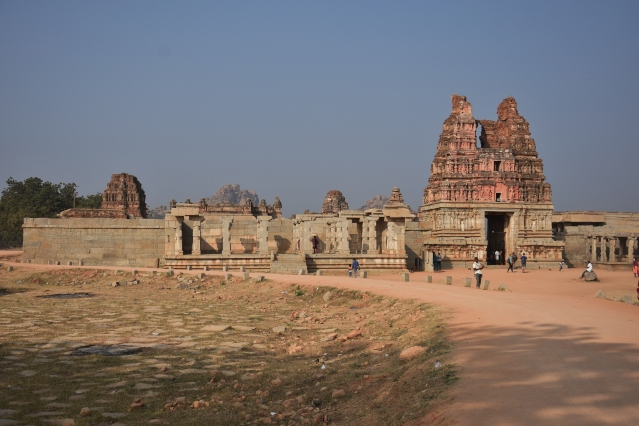 Entering Vitthala Temple compound