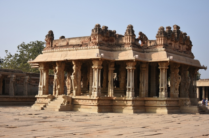Utsava Mandapa Of Vitthala Temple-built by Krishnadevaraya