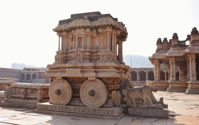 One among the 3 famous Stone Chariots in India- Konark,Hampi and Mahabalipuram