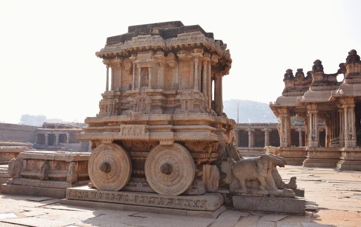 One among the 3 famous Stone Chariots in India- Konark,Hampi and Mahabalipuram