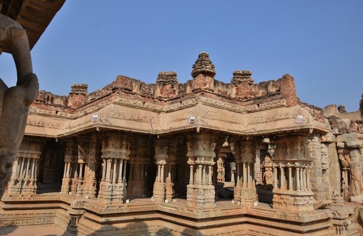 Maha Mandapa or 100 pillared Hall