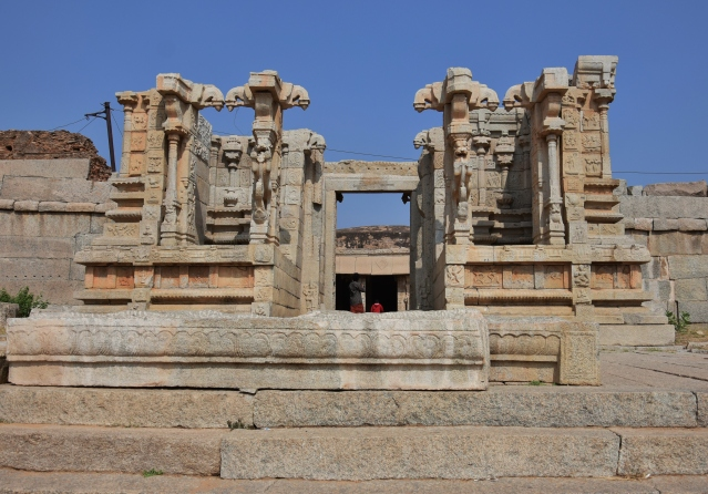 Damaged Front portion of Siva temple near Vitthala complex