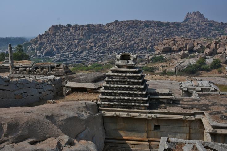 Top view of Narasimha temple