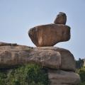 View of naturally balancing Rock Boulders