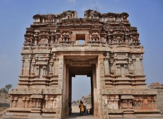 North Gopura of outer prakara - Achyutharaya Temple