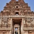 Inner North Gopuram – view from inside