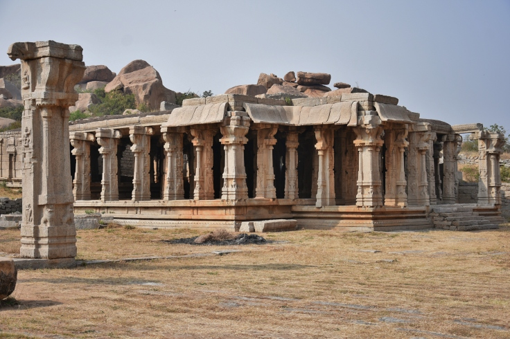 Kalyna Mandapa - west of Achyutharaya temple