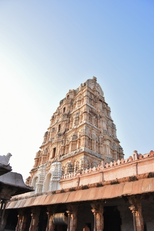 North gopura of Virupaksha Temple complex.