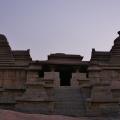 Trikuta Temple on the Hemakuta hill slope – Front view – Kadamba Nagara Sikhara