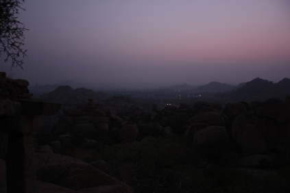 Malyavantha Parvata - Two natural water storage cisterns are named Rama Done and Lakshmana Done.It is believed that while searching for Sita, Rama and Lakshmana met Hanumantha in this Hill.