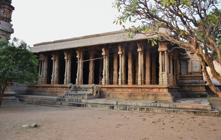 Maha Mandapa of Raghunathaswamy Temple