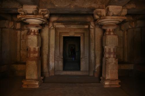 Closed Antarala of Ganagitti Jain temple.