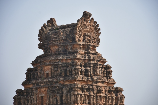 Architecture style of East Gopura- Chandrasekhara Temple