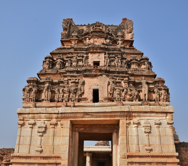 East Gopura of Chandrasekhara temple.