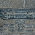 Saraswathi peedom (Idol base) Saraswathi Temple – Inside sanctum