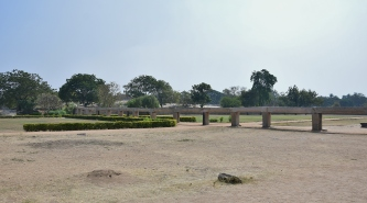Rock made Aqueducts bringing water to the 23 small and big tanks in Royal enclosure.