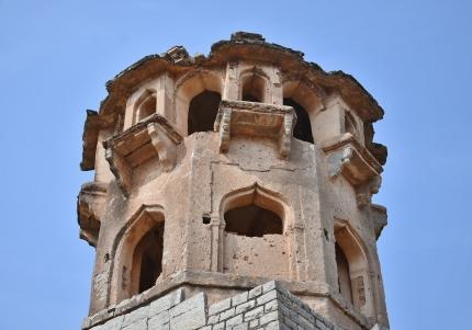 Watchtower at the southeast corner of Zanana enclosure.