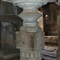 Pillars of Antarala of Underground Siva Temple