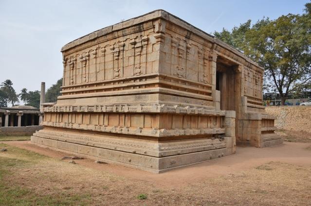 Eastern Dvitala Gopura Praveshadvara of Underground Siva Temple