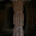 One of pillars of Antarala – Krishna Temple complex