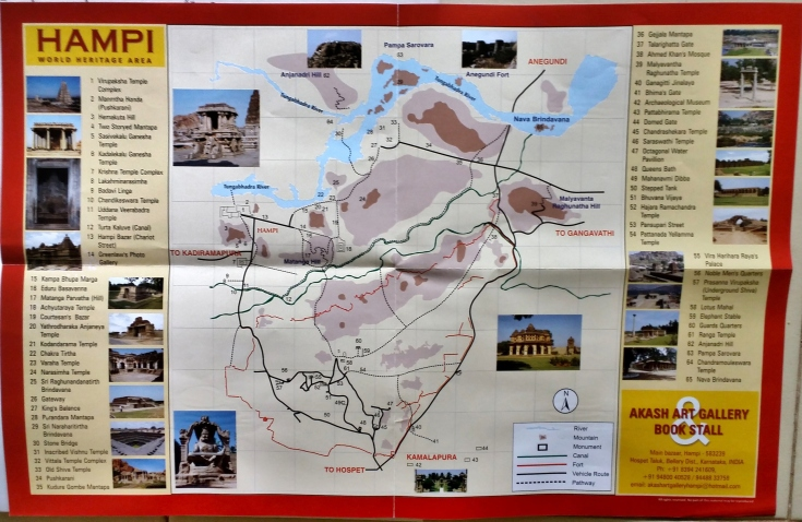 Hampi Map