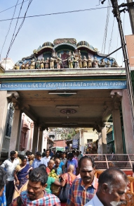 Welcome Mandapa of Palani Temple.
