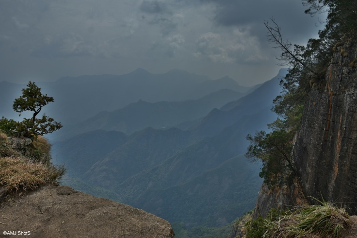 View from Guna Caves