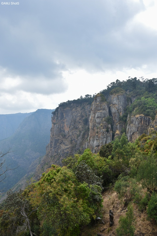 View of Pillar Rocks - Kodaikanal