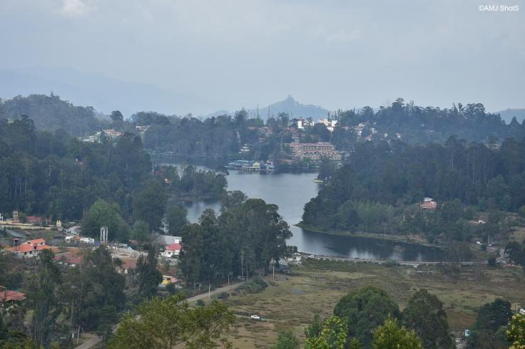 Upper Lake View - Kodaikanal