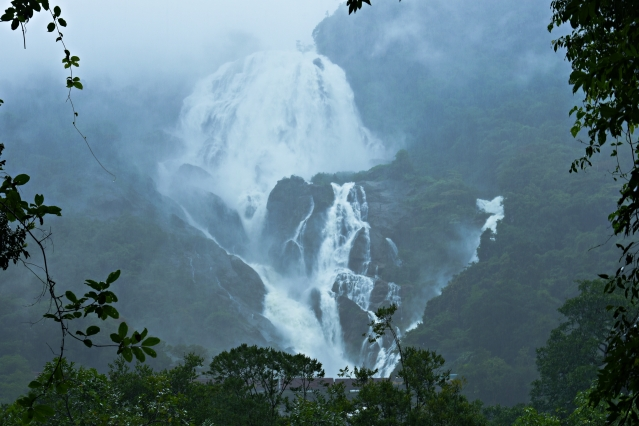 Dudhsagar Falls, Goa.
