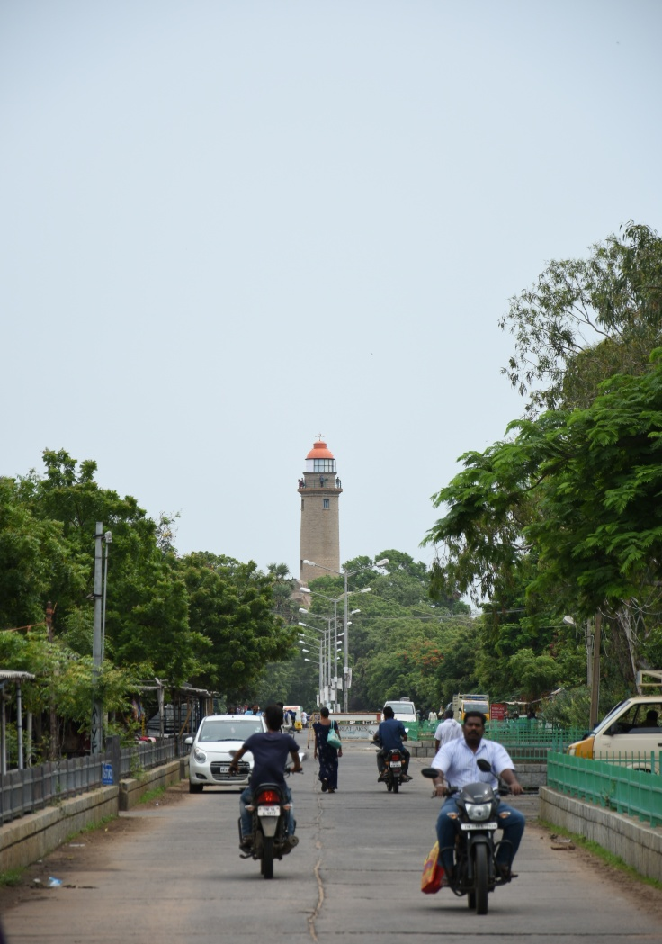 DSC_9317 - Old lighthouse of Mahabalaipuram made by British in early 20th CE - A classic view.