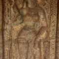 DSC_9437 – Female dvarapalaka inside Kotikal cave (left side).