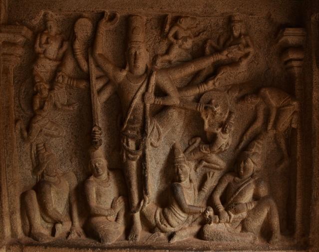 DSC_9527 - Trivikrama legend of Varaha Mandapa.