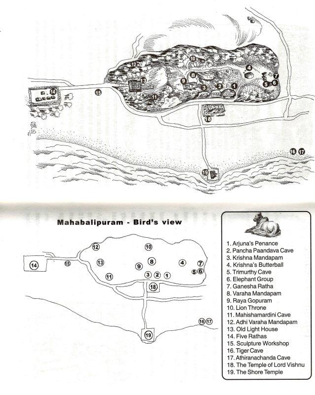 Mahabalipuram Map