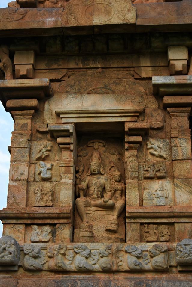 DSC_0025 -Vishnuanugrahamurthi - Shiva sitting with Parvathi - West side of Brhadisvara.