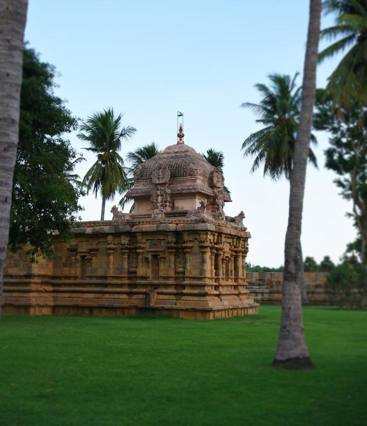DSC_0045 - Ganesha shrine on SW corner - view from west side.