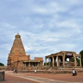 DSC_0212 – Marvellous view of Sri Vimana and Nandi mantapa of Thanjavur Brihadeeswara temple – SE corner.