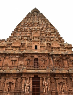 Brihadeeswara temple, Thanjavur - North face