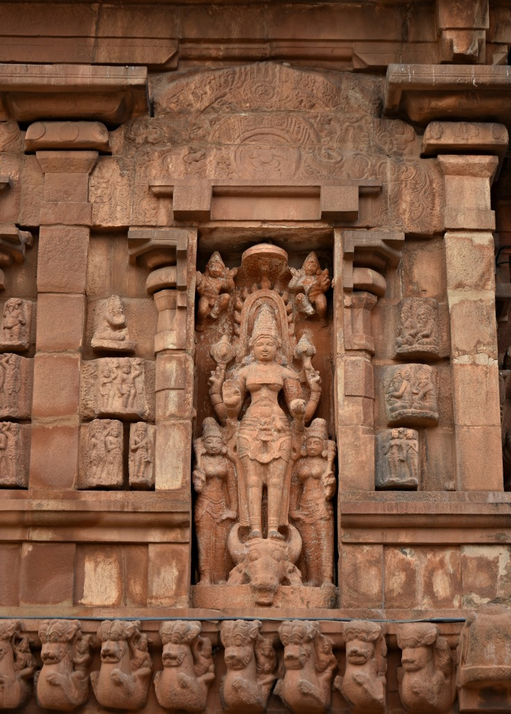DSC_0371 - Mahishasuranardhini display - N wall of Mahamandapa - left side of Anukkan tiruvayil.