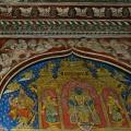 DSC_0416 – Thanjavur style painting of Lord Krishna with his consorts – Maratta Durbar hall.