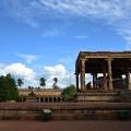 DSC_0457 – Beautiful evening sky from Thanjavur Brihadeeswara temple complex – North side.
