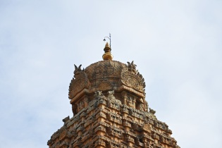 Shikhara of Thanjavur Brihadeesvara temple.