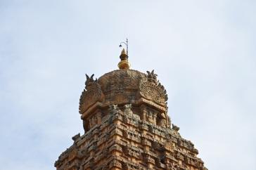 Shikhara of Thanjavur Brihadeesvara temple.