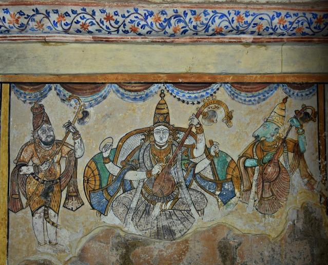 DSC_0617 - Mural Painting, Cloister mandapa (W) - 16th CE Nayaka period - Saraswathy.