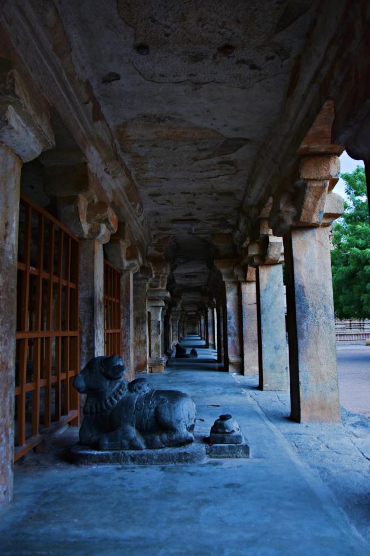 DSC_0620 - Thiruchchurru maligai (inside) - built by Commander-in-chief of Rajaraja,Krishnan Raman Mummudichola Brahmarayan.