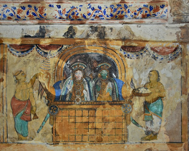 DSC_0624 - Mural Painting, Cloister mandapa (W) - 16th CE Nayaka period -