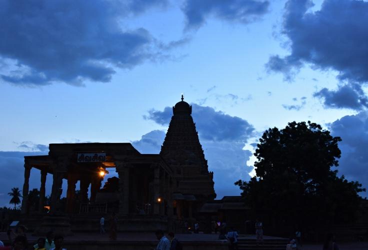 DSC_0688 - View of 'Dakshinameru' during Sunset.