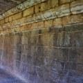 DSC_0744 – Ancient Nagara inscriptions found on the south side of Cloister mandapa – Brihadheeswara, Thanjavur.
