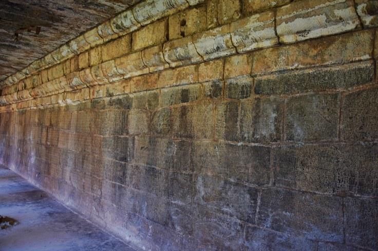 DSC_0744 - Ancient Nagara inscriptions found on the south side of Cloister mandapa - Brihadheeswara, Thanjavur.