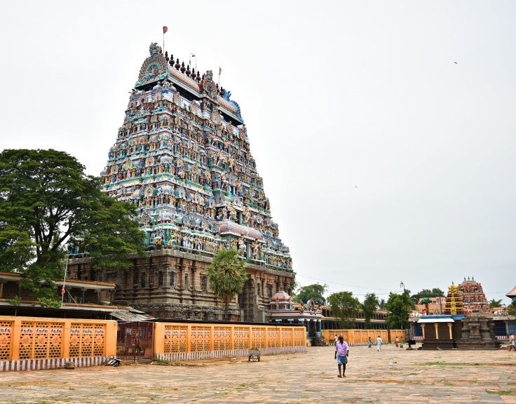 DSC_9739 (1)- Southern Gopuram of Thillai Nataraja temple - Built in early 13th CE.